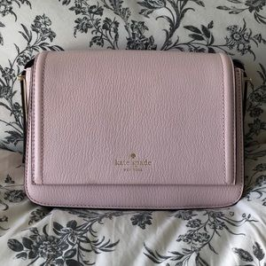 Kate Spade crossbody Purse light pink